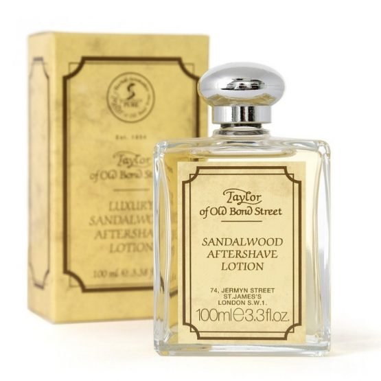 Taylor Of Old Bond Street Luxury Sandalwood Aftershave