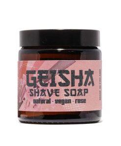 Geisha Rose Shave Soap